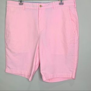 Jos A Bank Tailored Fit Shorts Size 35 Pink